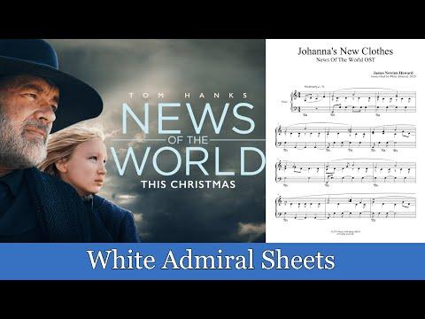 News Of The World (Johanna's New Clothes) James Newton Howard piano solo