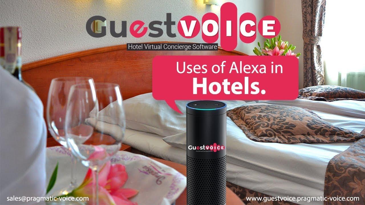 Guestvoice Hotel Concierge Guest Engagement Voice Application Using Amazon Alexa Overview