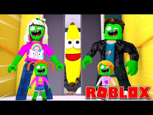 Zombie Roblox Family The Normal Elevator 4 Player