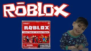 ROBLOX SERIES 1 TOYS - OPENING THREE BLIND BOXES- MIX N MATCH