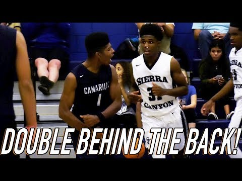 Jonathan Daniels DOUBLE BEHIND THE BACK Shakes Scotty Pippen Jr & WIll Washington For The LAYUP!