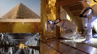 More details on the mysterious 'cavities' discovered in the Great Pyramid