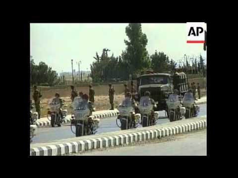 SYRIA: PRESIDENT ASSAD FUNERAL 8