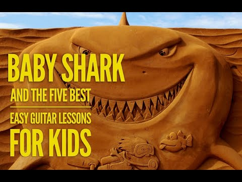 "how-to-play-""baby-shark""-easy-guitar-lesson-for-kids"
