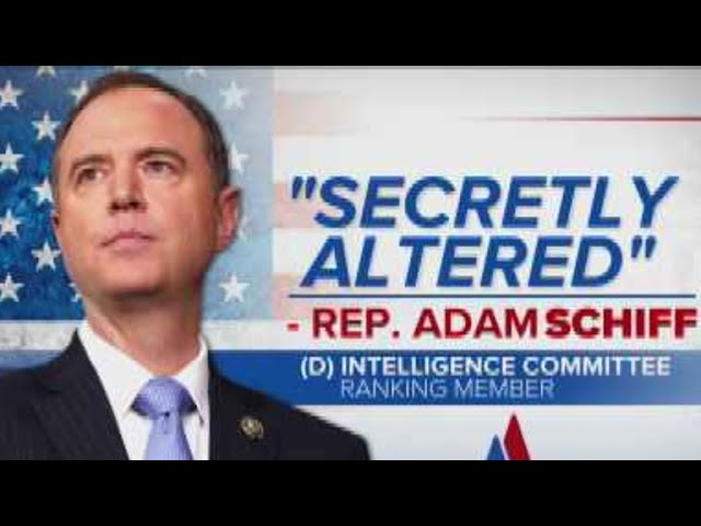 Schiff: Memo was altered before reaching White House