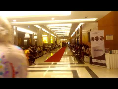 Radisson Blu M'Bamou Palace Hotel, Fashion Exhibition. Part 2. Congo Brazzaville.