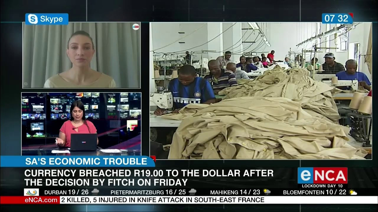 South Africa's economy is in a crisis - eNCA