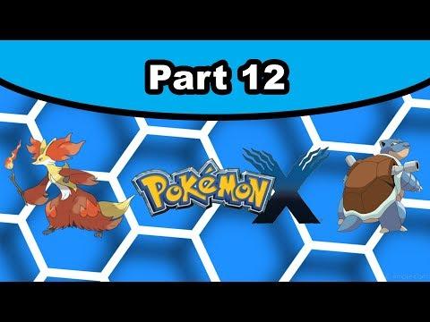 Pokemon X [12] - Team Flare Admin & Aliana (Kalos Power Plant)