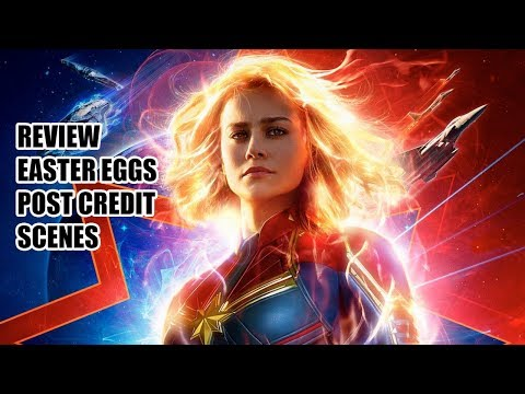 Captain Marvel Review Ending Explained + Post Credit Scenes Explained NO SECRET INVASION - 동영상