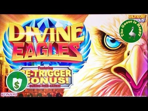 🆕 😄 Divine Eagles slot machine, Big Win