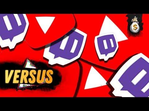 Преимущества Twitch над YouTube в Заработке. Заработок на Твич и Ютуб - Twitch Vs Youtube