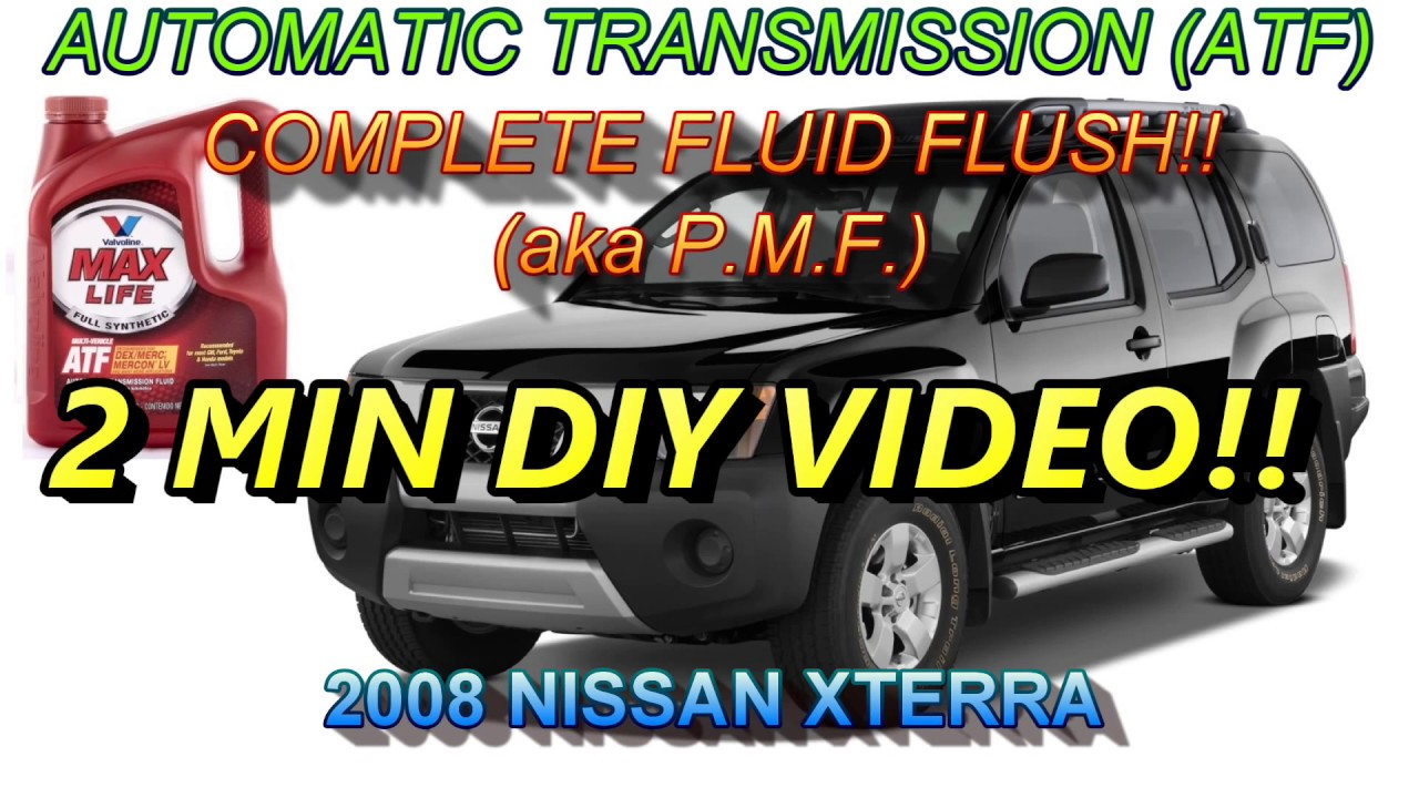 2003 xterra manual transmission fluid