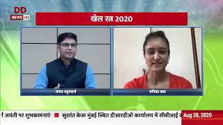 Table tennis player Manika Batra speaks exclusively to DD News