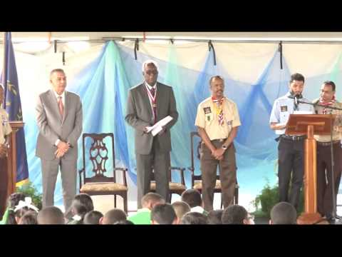 SCOUTS National Awards Ceremony on San Fernando Hill. July 1, 2015 - Trinidad & Tobago