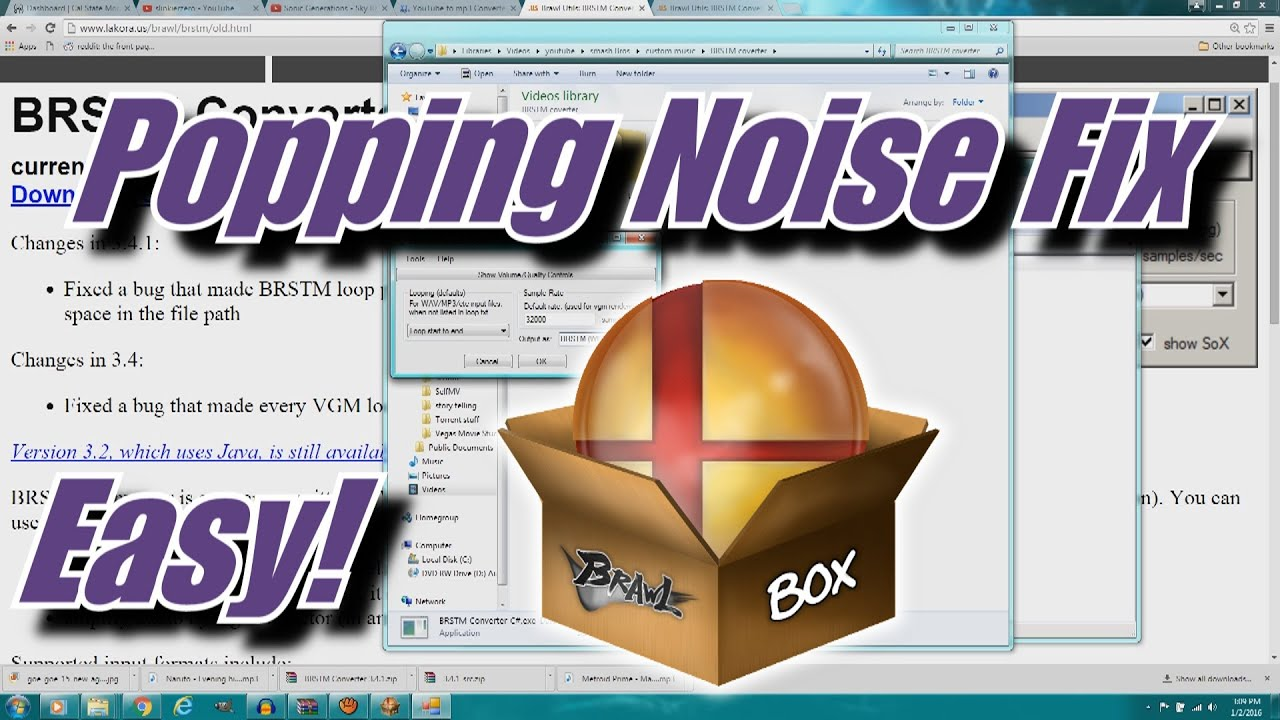 how to stop popping noise on laptop