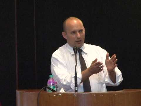 Lecture by Minister of Economy of Israel, H.E. Mr. Naftali Bennett, at IIT New Delhi - Part I