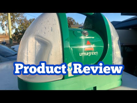 Product Review   Little Green Spot & Stain Carpet Extractor By Bissell
