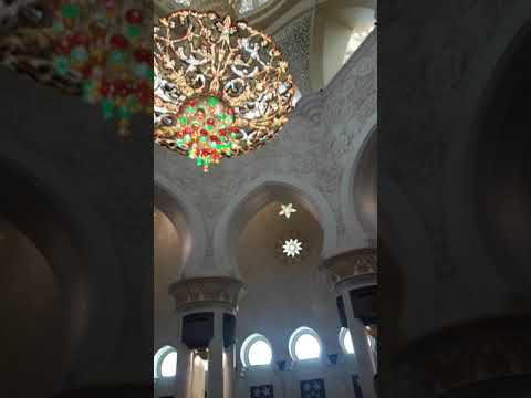 World Famous Dubai Grand mosque.