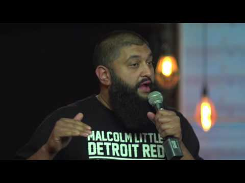 Comedian Azhar Usman Live