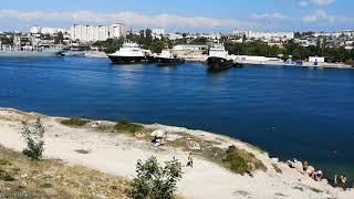 Красные камни пляж севастополь, пляжи крыма, лучшие пляжи, пляж отзывы