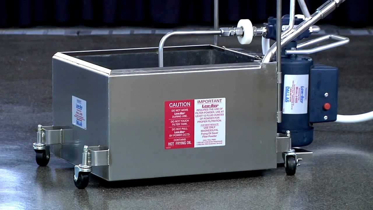 Filtering With A Portable Filter Machine And Magnesol 174 Xl