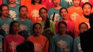 青松中學 建校三十周年慶典暨文藝匯演 合唱團表演