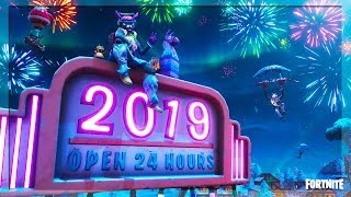 🔴 HAPPY NEW YEARS 2019! 🎉FREE NEW YEARS GIFTS! FREE GLIDER! (FORTNITE BATTLE ROYALE)