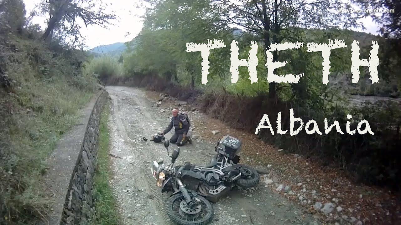 Motorrad Abenteuer In Theth Albanien Youtube