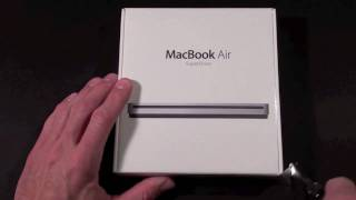 Apple MacBook Air SuperDrive: Unboxing and Demo