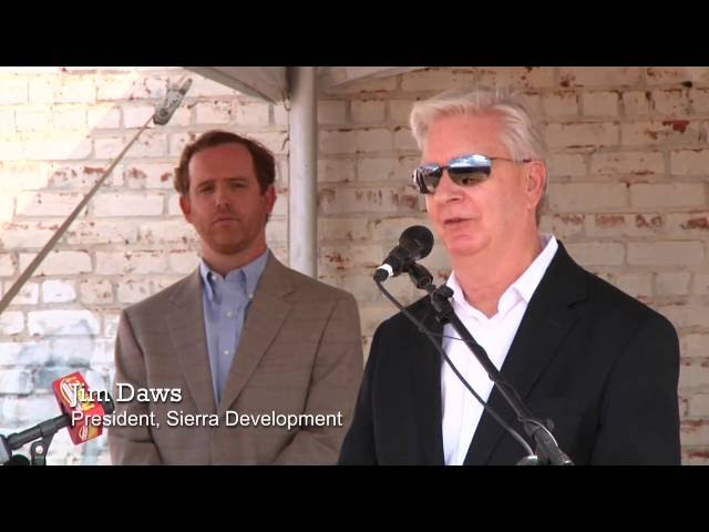 Mercer Music at Capricorn, Lofts at Capricorn Groundbreaking