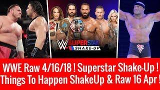WWE Raw 4/16/2018 Highlights Updates Superstar Shake-up 2018 Raw 16 April 2018