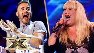 UNBELIEVABLE Nina Simone cover get's everyone FEELING GOOD! | The X Factor UK
