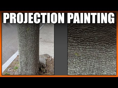 Blender 2.8 Texture extraction projection painting (part 1) thumbnail