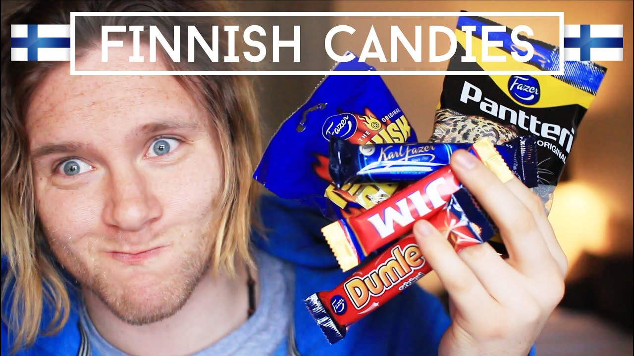 trying finnish candy part