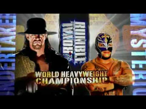 Royal Rumble Undertaker vs Rey Mysterio - YouTube