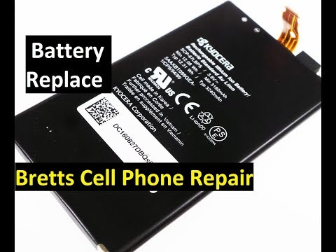 Kyocera Duraforce Pro Battery Replace Removal Install