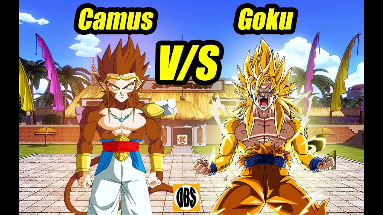 Goku Ssj Dorado Vs Camus Dios De La Destrucci 243 N Dragon