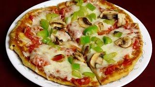 How to Prepare Special Veg Pizza - Indian Foods