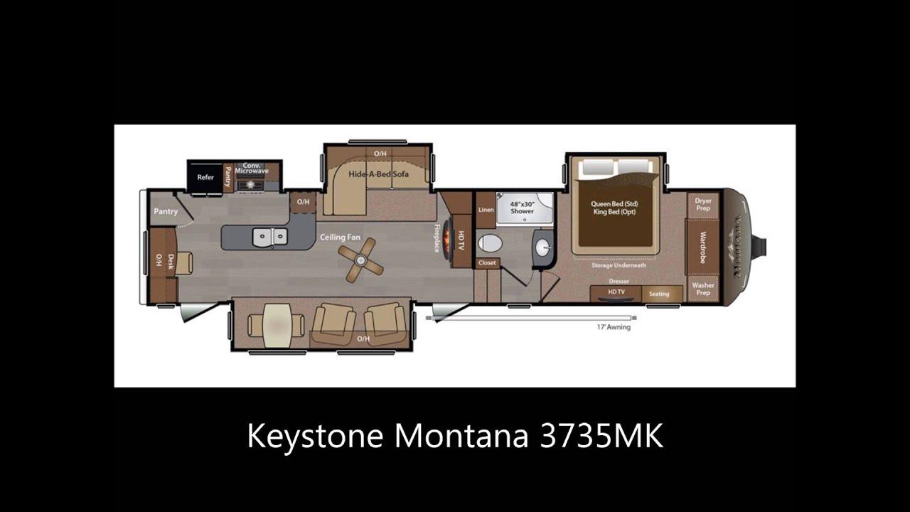 Montana RV Floor Plans - Keystone Montana