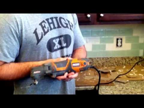 How to safely and easily remove a glass subway tile in one step