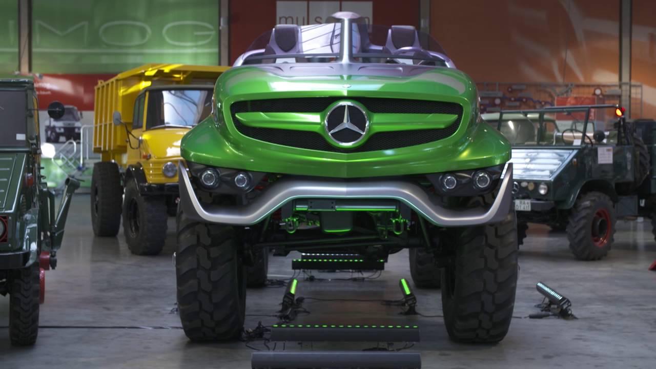 Mercedes-Benz Classic Insight - Unimog - Design Studio 2011   AutoMotoTV - YouTube