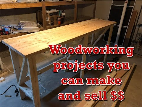 Woodworking projects you can make and sell