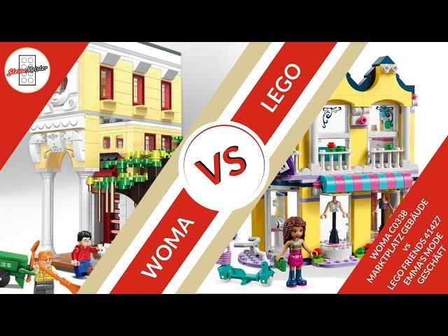 Wer gewinnt das Duell WOMA C0338 vs Lego® Friends 41427 Ein Vergleich von 2 Sets.