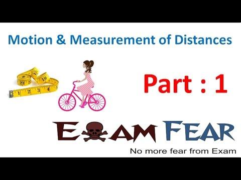 Physics Motion & Measurement of Distance Part 1 (Distance) Class 6 VI