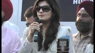 Ajay Devgn, Raveena Tandon walk for 26/11