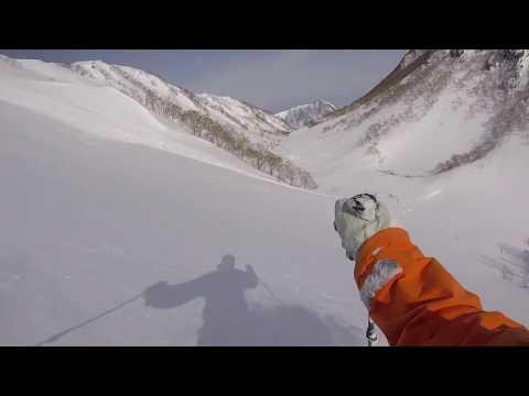 20180210 Mt. Mitahara, Myoko BC, powder skiing