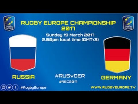 Russia Germany Full Game Rugby European Nations Cup