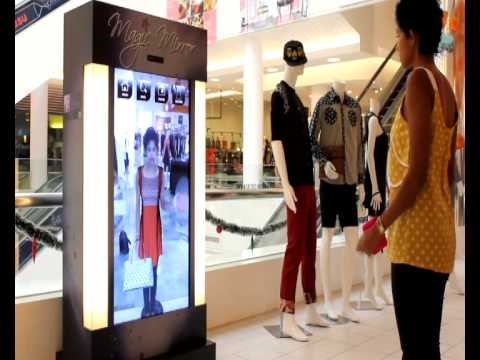3d Augmented Reality Virtual Fitting Room Youtube