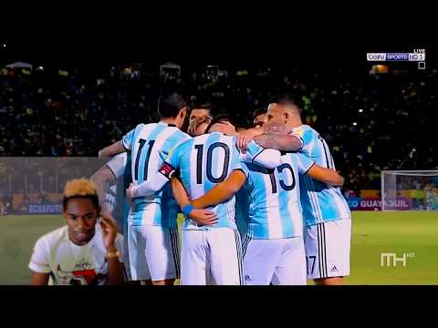 Messi Carries An Entire Country... BEST PLAYER IN THE WORLD! Argentina 3x1 Ecuador Reaction!