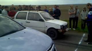 RACE56.RU - Drag racing - Chevrolet Cruze vs Ока